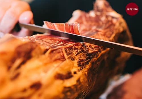 cortador de jamón profesional